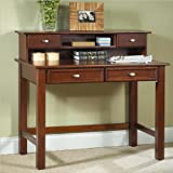 Home Styles 5532-162 Hanover Student Desk and Hutch, Cherry Finish
