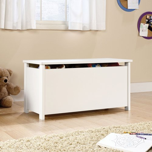 Why Choose Sauder Beginnings Toy Chest, Soft White by Sauder