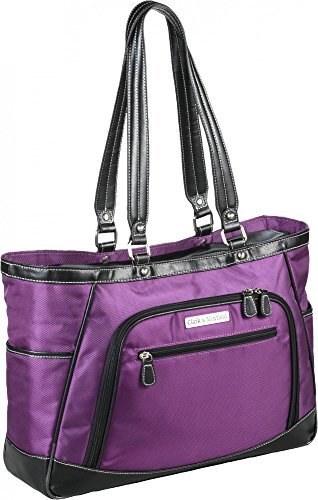 clark-mayfield-sellwood-metro-xl-173-laptop-tote-purple-by-clark-mayfield