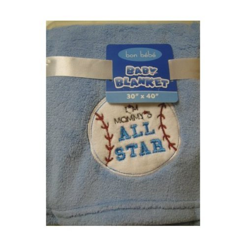 Bon Bebe Baby Boy All Star Blanket
