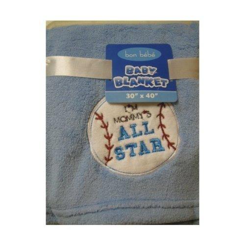 Bon Bebe Baby Boy All Star Blanket
