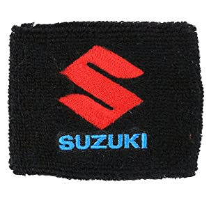 Suzuki Brake Reservoir Sock Cover Available in Black and White, Fits GSXR, GSX-R, 600, 750, 1000, 1300, Hayabusa, Katana, TL 1000, SV 650