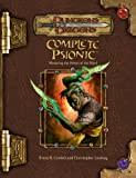 Complete Psionic (Dungeons & Dragons d20 3.5 Fantasy Roleplaying Supplement) (0786939117) by Cordell, Bruce R.