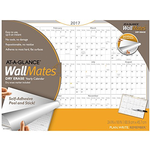12 Month Dry Erase Wall Calendar Page 3 Online