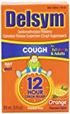 Delsym Childrens Cough Suppresant, Orange Flavored Liquid, Alcohol Free, 3 Ounce