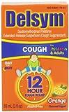 Delsym Childrens Cough Suppresant, Orange Flavored Liquid, Alcohol Free, 3 Ounce