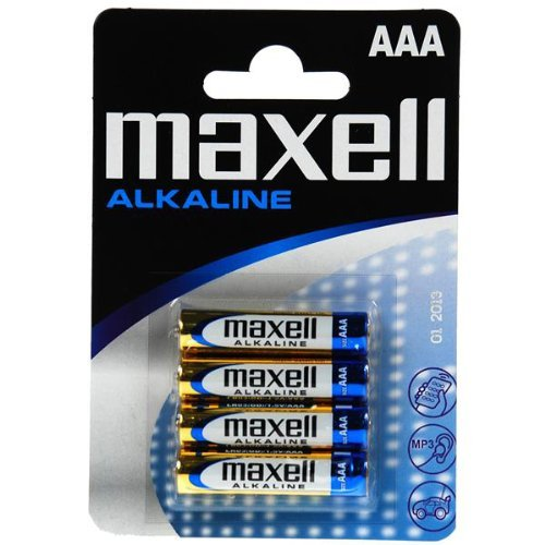 4 X Pile Maxell Original (LR03 AAA 1,5 V) Alcalines LR3 Maxell Alkalinas Livraison 48/72H Felixmania®
