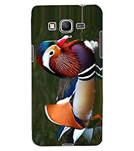 ColourCraft Beautiful Duck Design Back Case Cover for SAMSUNG GALAXY GRAND PRIME G530H