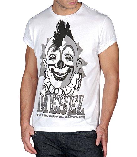 diesel-t-clown-exito-clowning-crew-camiseta-de-cuello-redondo-blanco-blanco-blanco-small