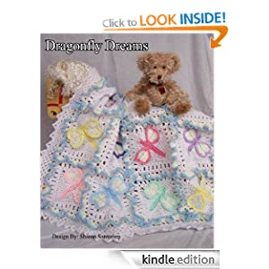 Dragonfly Dreams Baby Afghan or Blanket Crochet Pattern