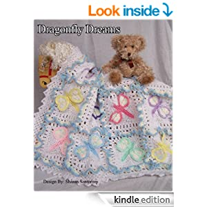 Crochet Patterns On Amazon : Dragonfly Dreams Baby Afghan or Blanket Crochet Pattern - Kindle ...