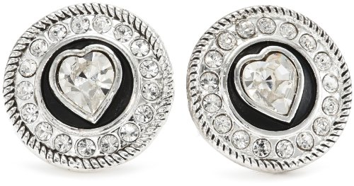 Western Edge Concho Heart Earrings