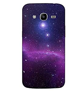 Make My Print Abstract Sky Printed Multicolor Hard Back Cover For Samsung Galaxy J2 2016 Edition / J2 Pro