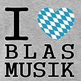 I-love-Blasmusik-Mnner-Premium-T-Shirt-von-Spreadshirt