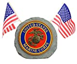 Red Carpet Studios Patriotic Garden Stone, Marines