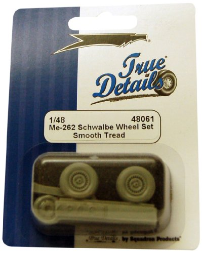 True Details Me 262 Wheel Set - 1