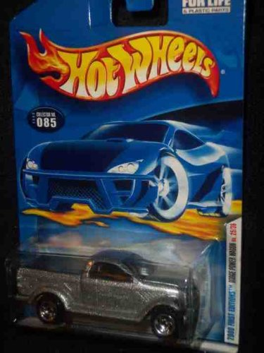 2000 First Editions -#25 Dodge Power Wagon 2000 Card #2000-85 Collectible Collector Car Mattel Hot Wheels 1:64 Scale - 1