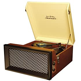 Crosley Varsity Stack-O-Matic Record Player (Brown/Tan)