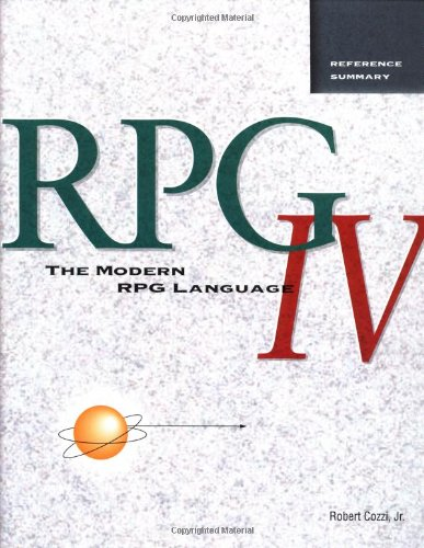 The Modern RPG IV Language Reference Summary-2nd edition