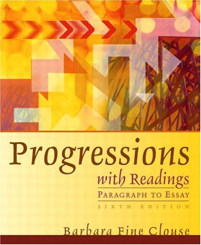 Progressions with Readings (6th Edition)