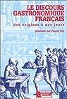Le Discours gastronomique français par Ory