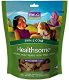 Halo Healthsome Skin and Coat Natural Treats with Dream Coat for Dogs, 6oz