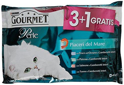 gourmet-perle-alimento-completo-per-gatti-adulti-piaceri-del-mare-4-x-85-g-340-g