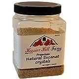 Hoosier Hill Farm Organic Sucanat Sugar Crystals 1.5 lbs