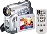JVC GR-D290EK MiniDV Camcorder with DV in/out & SD card [25x Optical Zoom, 2.5