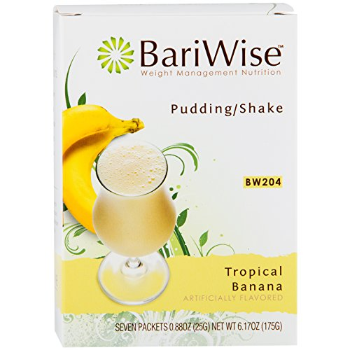 BariWise Protein Diet Pudding/Shake Mix - Tropical Banana (7 Servings/Box) (Ready Made Meals For Weight Loss compare prices)