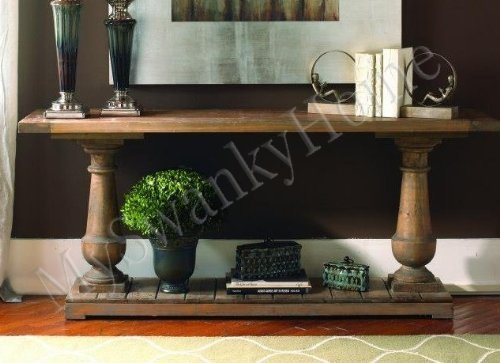 Rustic Solid Wood Spring Creek Console Table
