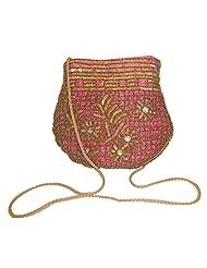 CLICKTIN Women DESIGNER SLING BAG Pink