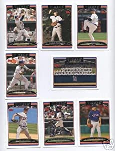 2006 Topps Detroit Tigers Baseball Cards Complete Team Set (21 cards) by Topps