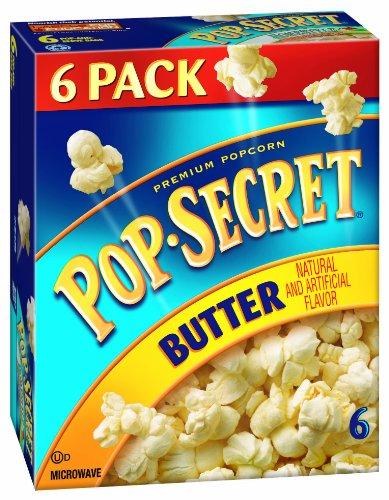 Pop-Secret Popcorn, Butter, 6-Count