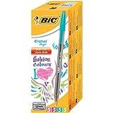 BIC 895793 - Bic Cristal Fashion Ball Pen Asstd 895793 (PK20)