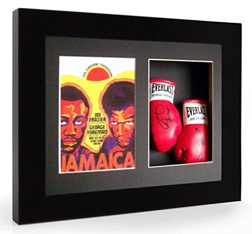 joe-frazier-george-foreman-jamaica-guantoni-da-boxe-in-miniatura-con-cornice-display