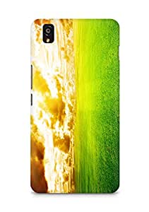Amez designer printed 3d premium high quality back case cover for OnePlus X (Friendly sky)