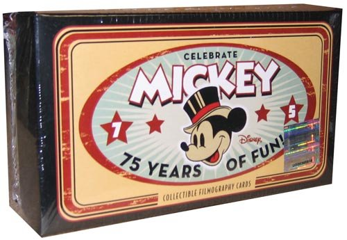 Disney Mickey Mouse 75 Years of Film Card Set (75 collectible cards plus 1 bonus Mickey Mouse Commemorative Card)