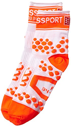 Compressport, Calzini a compressione Proracing Run, Arancione (Orange_00or), XL