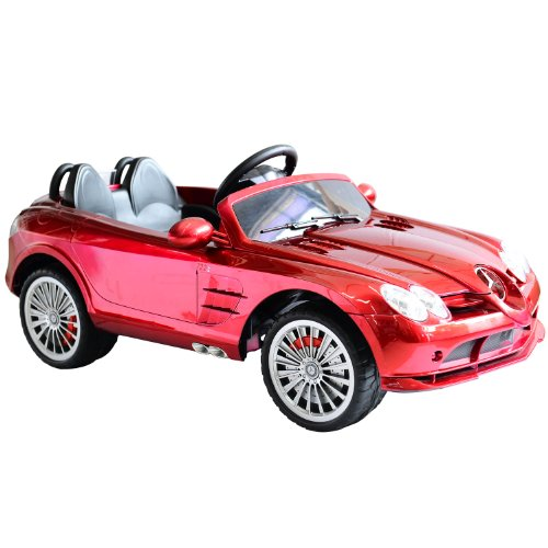 Mercedes-Benz 722S Kids 12V Electric Ride On Toy Car W/ Parent Remote Control - Red