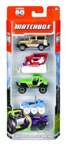 (神价)美泰C1817 Mattel 5辆小车模 Matchbox 5-Pack Assortment styles may vary $3