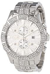 Marc Ecko Men's E22569G1 The M-1 Silver Stainless Steel Watch