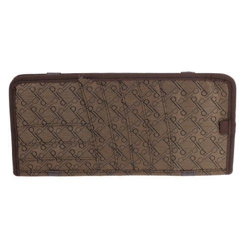 Elastic Back Brown 8 Pcs Sun Visor CD Holder Pocket Case for Auto скобозабиватель kwb blue pt 8 053 308