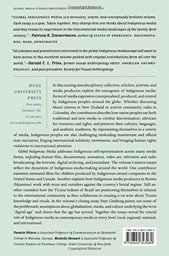 Global Indigenous Media: Cultures, Poetics, and Politics
