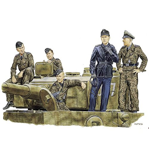 1/35 #6028 Tiger Aces Normandy 1944 Figure Set