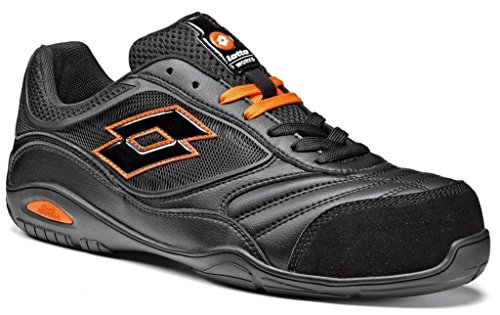 Scarpe antinfortunistiche Lotto Works ENERGY 500 S1P Nera (43, Nero)