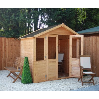 Traditional Summerhouse with Double Door