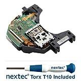 New - Microsoft Xbox One Laser Lens - Liteon DG-6M1S-01B (HOP-B150) + Nextec®...