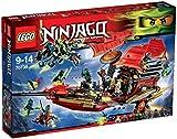 Lego 70738 - Ninjago letzte Flug des Ninja-Flugseglers