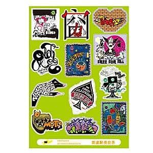 Amazon.com: Graffiti Style Laptop PVC Decal Sticker for MacBook Air